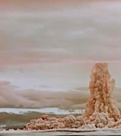 Rússia divulga vídeo da maior explosão da história da humanidade pela primeira vez