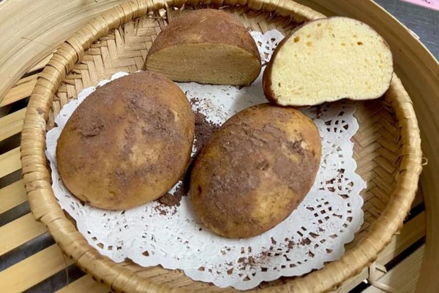 Pães idênticos a batatas