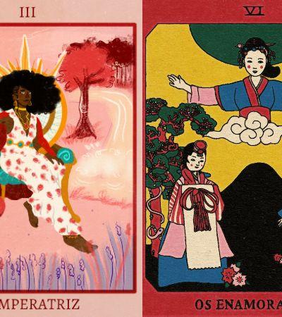 Tarot de artistas LGBTQIA+, negros e com deficiência recria artes de forma inclusiva