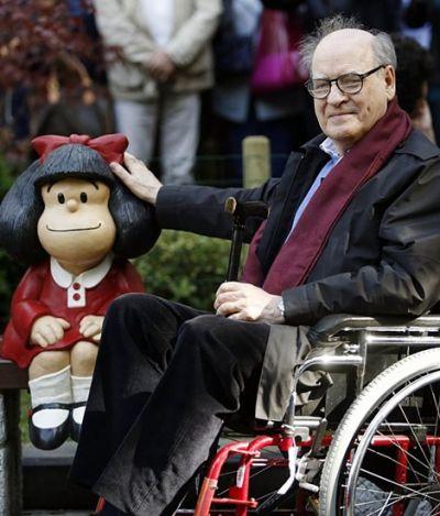 'Mafalda' perde seu criador, Quino, aos 88 anos; relembre importância de cartunista