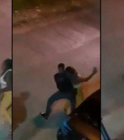 Mulher negra que tomou soco e recebeu xingamento racista de PM pagou fiança para ser solta