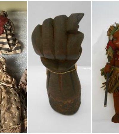 Museu da República recebe peças sagradas da umbanda e candomblé apreendidas pela polícia há mais de 100 anos