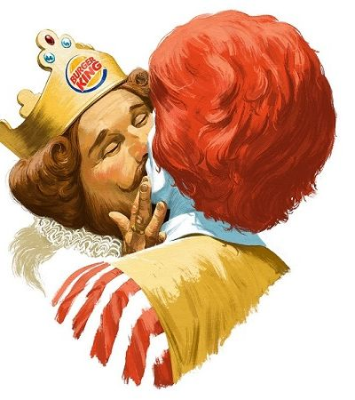 Burger King e McDonald's se apaixonam em campanha pelo orgulho LGBTQIA+