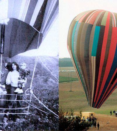 Eles fugiram da Alemanha Oriental em 1979 em um balão de ar quente caseiro