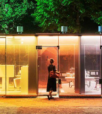 Os banheiros públicos high-tech – e transparentes – recém inaugurados no centro de Tóquio