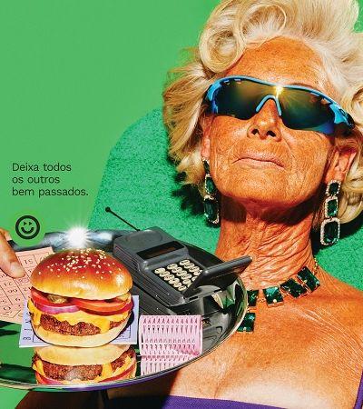 Marca aposta em surrealismo para promover alimentação a partir de plantas