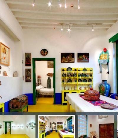 Estúdio de Frida Kahlo e Diego Rivera pode ser visitado em tour virtual cheio de detalhes