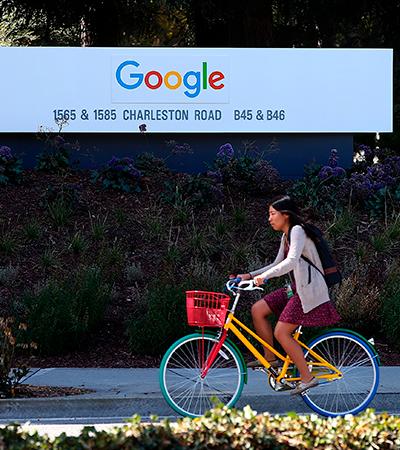 Google mira 100% de uso de energia limpa até 2030 em movimento sustentável