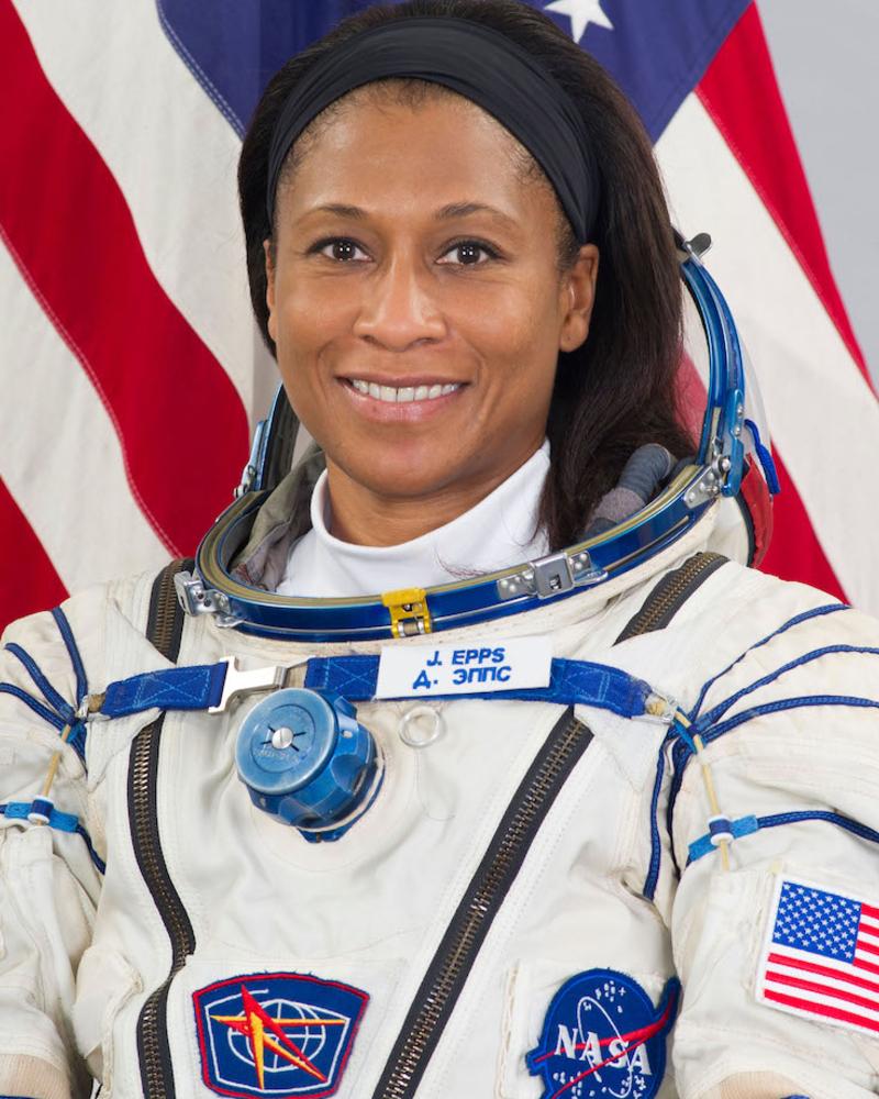 Imagem de Jeanette Epps, que é astronauta e engenheira aeroespacial