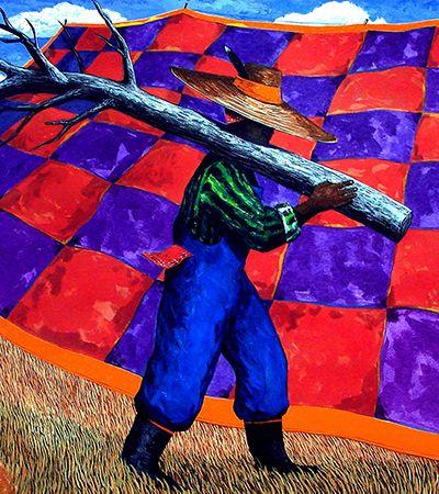 As cores e uma parte da história população negra dos EUA nas pinturas de Jonathan Green