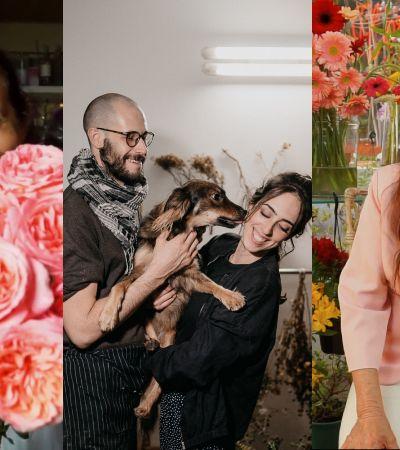 Felicidade compartilhada: 3 histórias inspiradoras e emocionantes de floristas