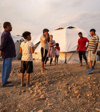 Grécia: maior campo de refugiados da Europa pega fogo e passa por crise humanitária grave