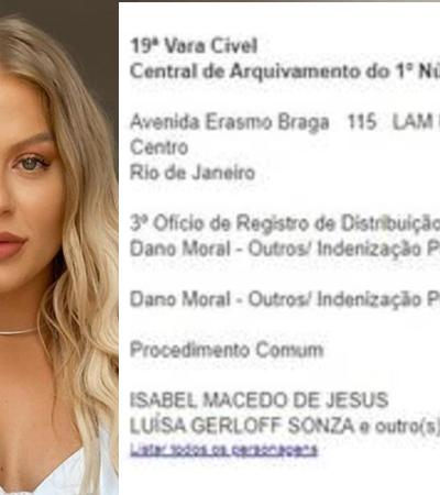 Luísa Sonza é processada por racismo por advogada negra e fala em 'acusação falsa'