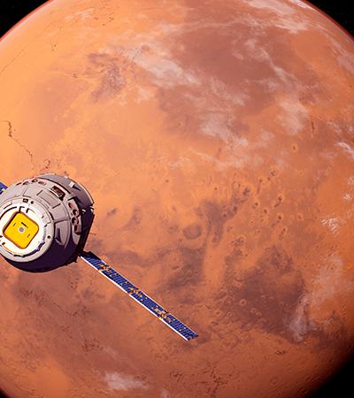 Luas de Marte serão fotografadas com câmeras de 8k de definição