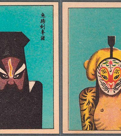 As incríveis máscaras coloridas usadas na Ópera Chinesa há mais de 1000 anos