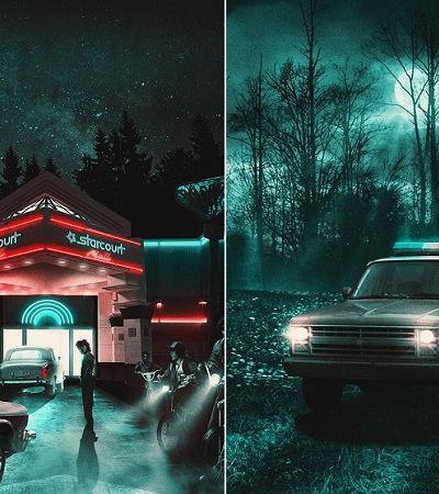 Drive-in de Stranger Things vai permitir que visitantes dirijam por Hawkins, nos EUA