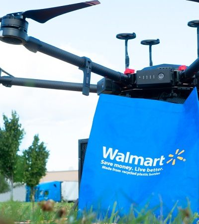 Walmart lança programa piloto de entrega de mercadorias via drones