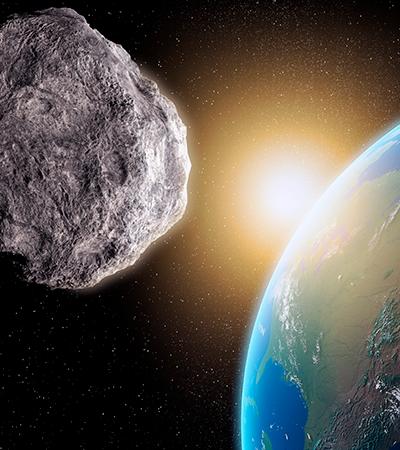Asteroide passa 'raspando' pela Terra e chega mais perto de nós do que satélites de TV