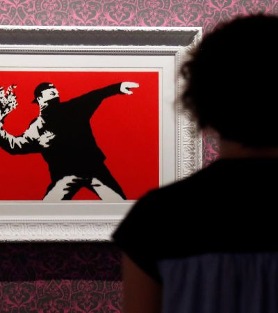 Banksy perde direitos de uma de suas obras mais famosas por omitir identidade no tribunal