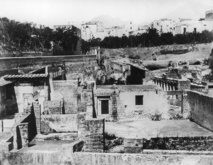 Ruínas da cidade de Herculano