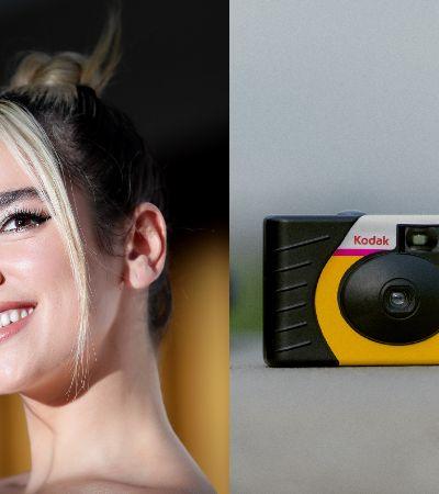 Dua Lipa usa câmera descartável para registrar cotidiano no isolamento