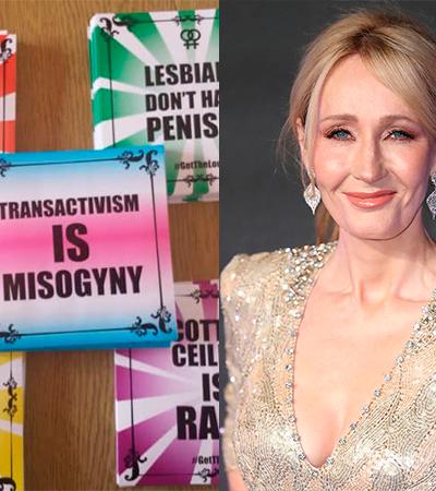 J.K. Rowling perde vergonha de esconder preconceito e divulga loja de produtos transfóbicos