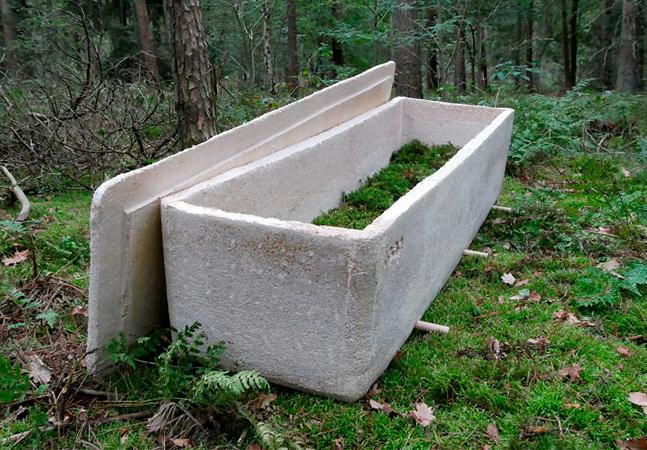 Pesquisador desenvolve caixão ecológico que transforma seu corpo em adubo em 3 anos