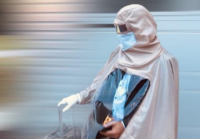 Parece que designers inventaram o traje perfeito contra o coronavírus