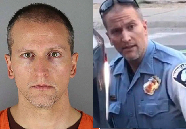 Policial acusado de matar George Floyd é libertado mediante fiança