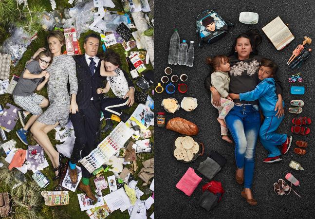 Fotógrafo aborda globalização, desigualdade e desperdício em imagens impactantes