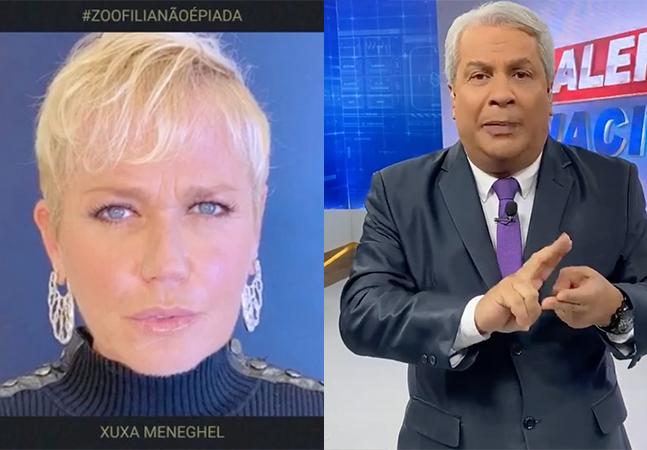 Xuxa reúne famosos em resposta a Sikêra Jr: 'sexo com animais e crianças é estupro'
