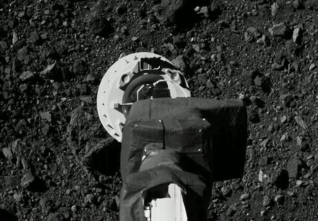NASA pousa uma nave espacial num asteroide pela primeira vez na história