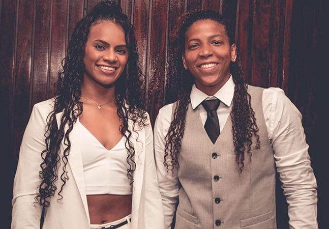 Judocas Rafaela Silva e Eleudis Valentim se casam no Rio: 'dia de realizar um sonho'
