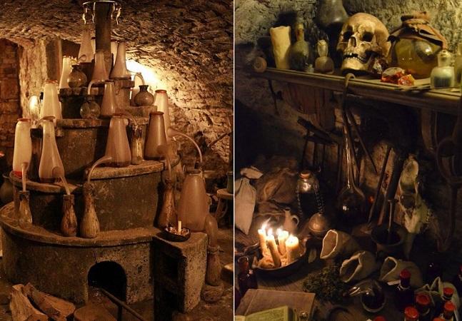 Este antigo laboratório de alquimia do século 16 foi encontrado num túnel em Praga