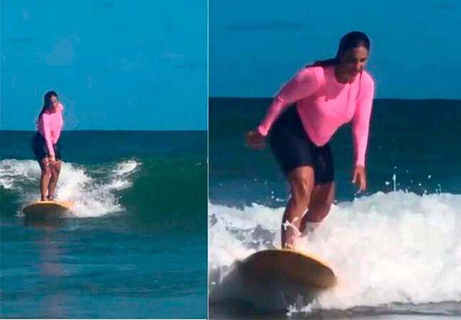 Ivete Sangalo salva criança de afogamento em praia na Bahia