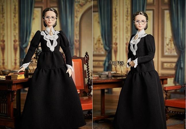 Barbie lança boneca de Susan B. Anthony, sufragista e 1ª mulher a votar nos EUA