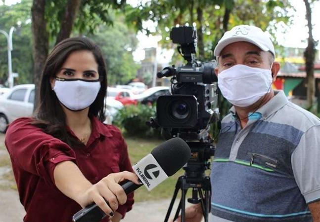 Repórter da Globo é mantida refém por fiéis e pastor em igreja evangélica no Pará