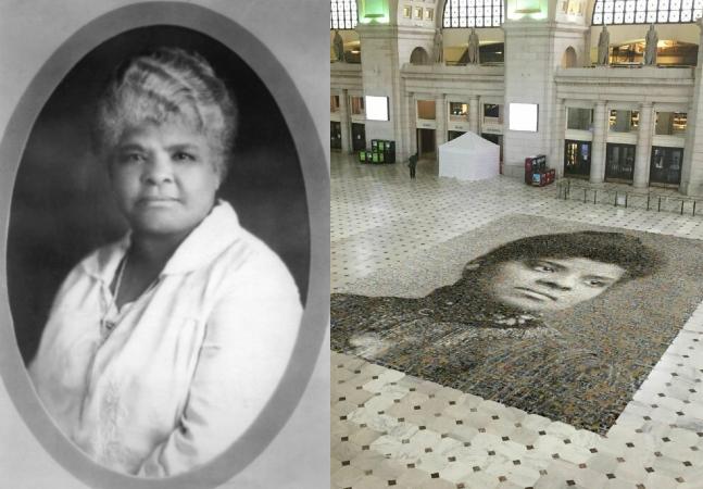 Ida B. Wells: sufragista negra é homenageada com mosaico gigante em Washington