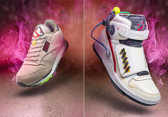 Reebok lança tênis inspirado em 'Ghostbusters', 'Os Caça-Fantasmas, que é pura nostalgia