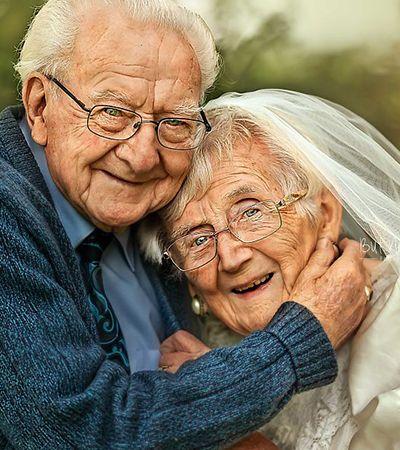 Eles estão juntos há 72 anos e fizeram este ensaio para celebrar