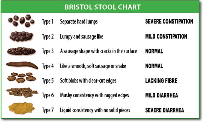 Escala de Fezes de Bristol