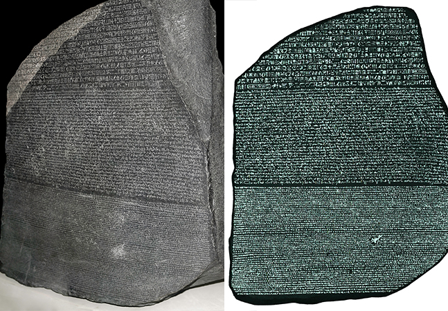 O que é a Pedra de Roseta, o mais importante documento arqueológico sobre o Egito Antigo?