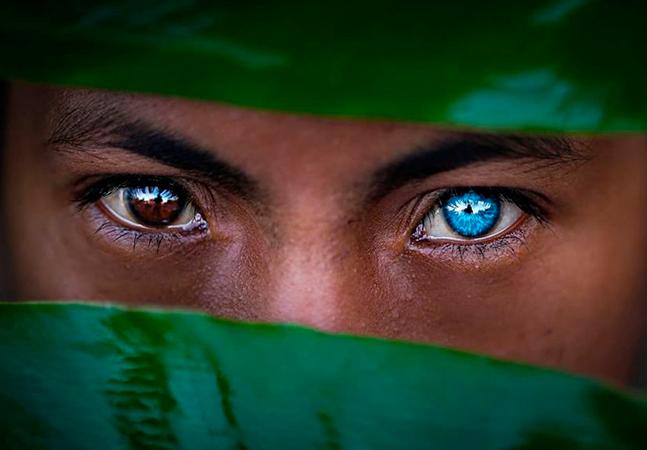 Síndrome provoca mudança na coloração dos olhos em população nativa da Indonésia