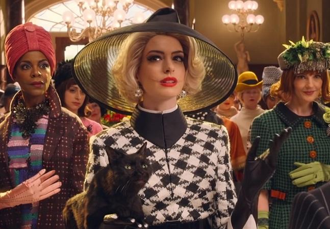 Anne Hathaway revela visual aterrorizante para remake de 'A Convenção das Bruxas'
