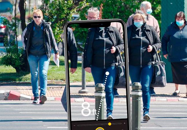 Apple lança 'detector de pessoas' que pode ajudar no distanciamento social