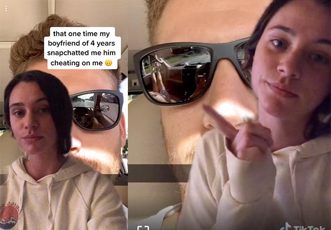 Entenda como ela descobriu traição do namorado pelo reflexo dos óculos