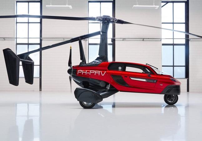 Carro voador é autorizado a circular por ruas da Europa