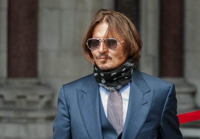 Johnny Depp perde ação contra jornal que acusou ator de agredir esposa