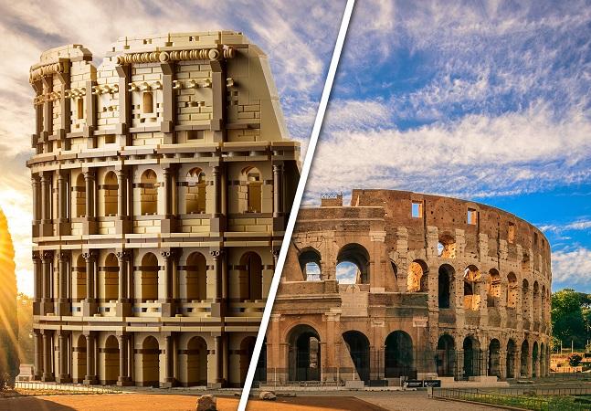 LEGO impressiona com lançamento de Coliseu com mais de 9 mil peças