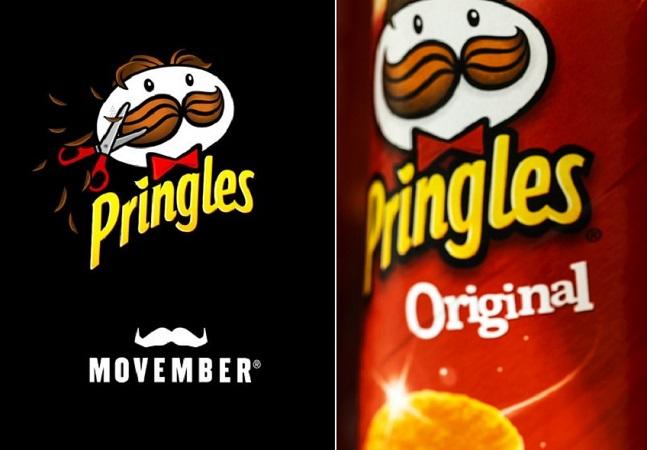 Pringles raspa bigode de mascote pela 1º vez em 50 anos em defesa da saúde